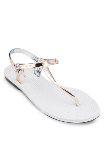 T 字夾腳果凍涼鞋, 女鞋zalora 心得, 鞋