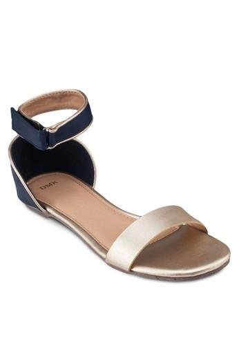 一字帶繞踝平底涼鞋, 女鞋, 涼zalora 評價鞋
