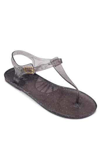 Jumba 果zalora 台灣凍夾腳涼鞋, 女鞋, 鞋