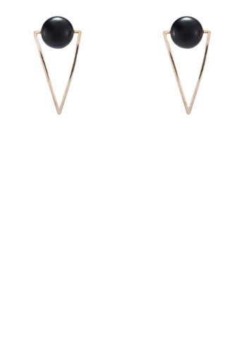 Mevia 幾何造型耳環, zalora 心得飾品配件, 飾品配件