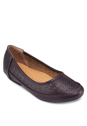 雕花娃娃鞋zalora退貨, 女鞋, 鞋
