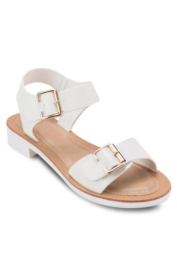 Casual Flat Sandals, zalora 心得女鞋, 鞋