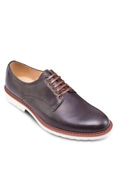 雙色仿皮繫帶紳士鞋