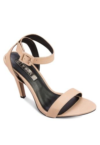 Omarion 繞踝高跟涼鞋zalora 評價, 女鞋, 高跟