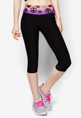 七分貼身運動褲, 運動, zalora 鞋評價服飾