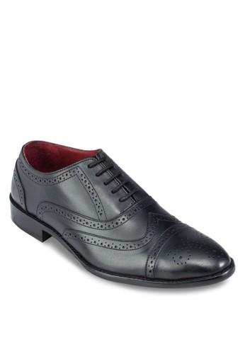 zalora鞋沖孔雕花牛津皮鞋, 鞋, 鞋