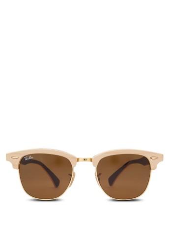 Clubmaster 木製太陽眼鏡, 飾品配件, 飾zalora 台灣品配件