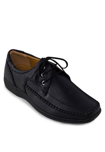 繫帶休閒皮鞋, 鞋zalora鞋, 男鞋
