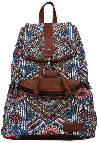 TIPICAL Tipical Magnifera Backpack - Brownstone