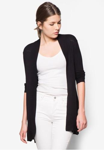 羅紋開襟外套, 服zalora 心得飾, 外套