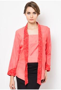 Batik on Denim Andamari Kebaya Salem