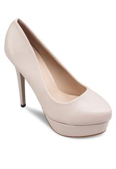 厚底尖頭高跟鞋