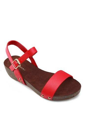 Mazalora 心得tisse 繞踝涼鞋, 女鞋, 涼鞋