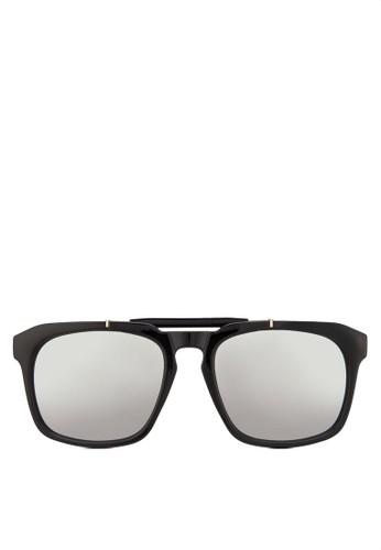 Owzalora退貨en 方形粗框太陽眼鏡, 飾品配件, 方框