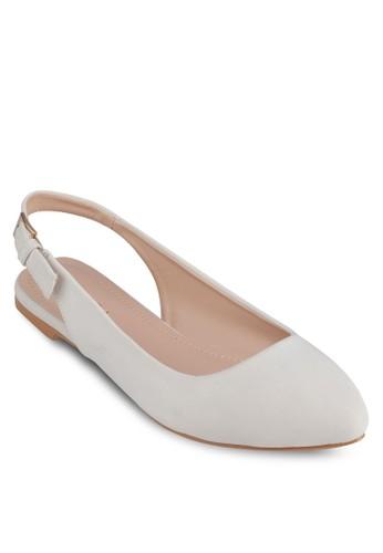 尖頭zalora 評價繞畫平底鞋, 女鞋, 芭蕾平底鞋