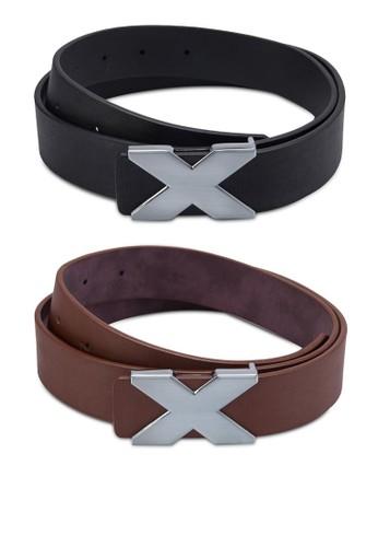 二入X 扣環仿皮腰帶zalora開箱, 飾品配件, 飾品配件