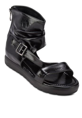 Bandage Platform zalora 評價Sandals, 女鞋, 鞋
