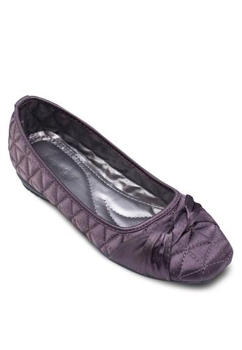 菱格扭結zalora鞋娃娃鞋, 女鞋, 鞋