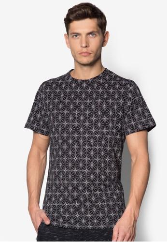 幾何圖形T 恤, 服飾, Tzalora退貨恤