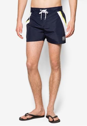 14&zalora 評價quot; 繫帶沙灘短褲, 服飾, 服飾
