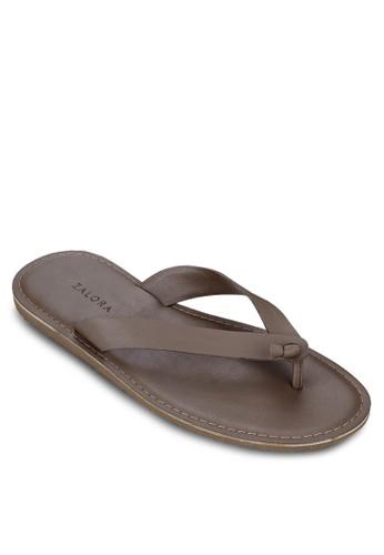 zalora退貨扭結夾腳拖鞋, 鞋, 拖鞋