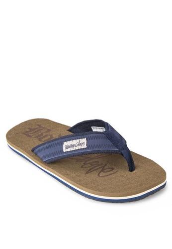 簡約人字帶夾腳拖, zalora 評價鞋, 拖鞋