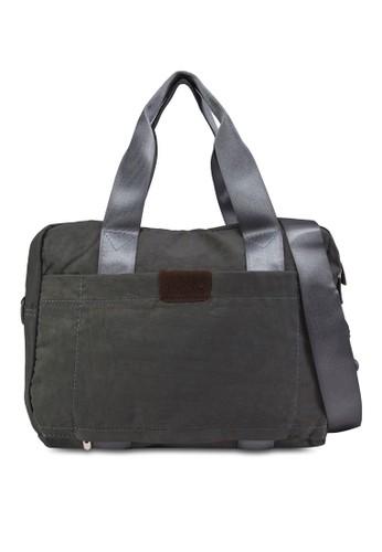 多夾層zalora 心得行李拉桿手提包, 包, 旅行背包