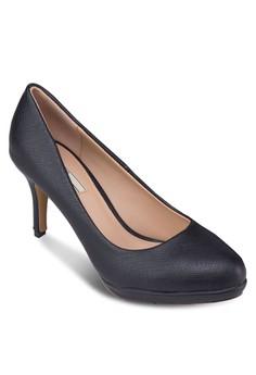 暗紋厚底高跟鞋