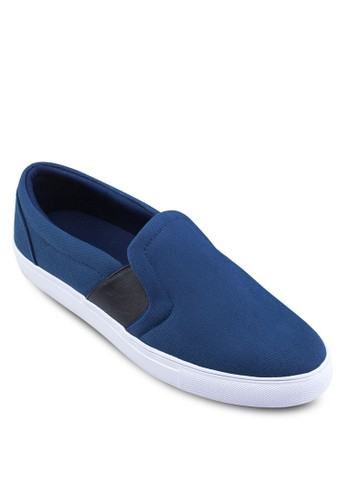 Canvas Slip Ons with Sidzalora 評價e Elastic Bands, 鞋, 懶人鞋