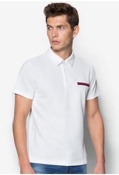 壓紋胸袋POLO衫