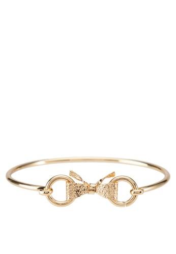 蝴蝶結雙環手環, 飾品配件,zalora 心得 其他