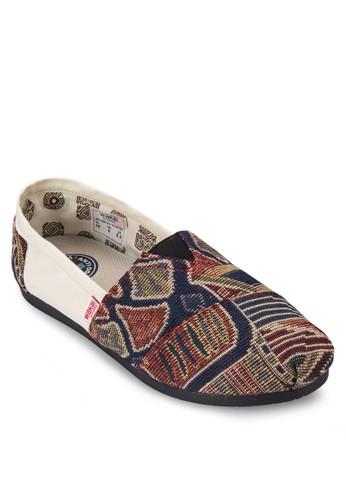 Tacuates 印花懶人鞋, 女鞋zalora 心得, 休閒鞋