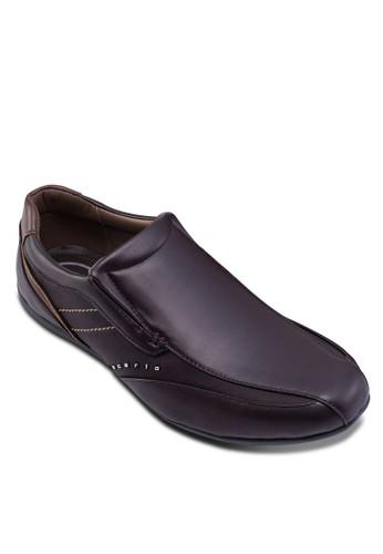 仿皮拼接休閒鞋, 鞋zalora鞋子評價, 船型鞋