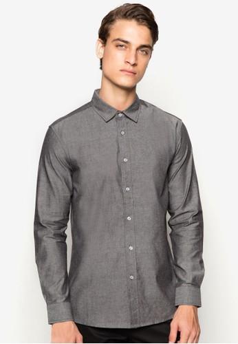 基本款長袖襯衫zalora 評價, 服飾, 服飾