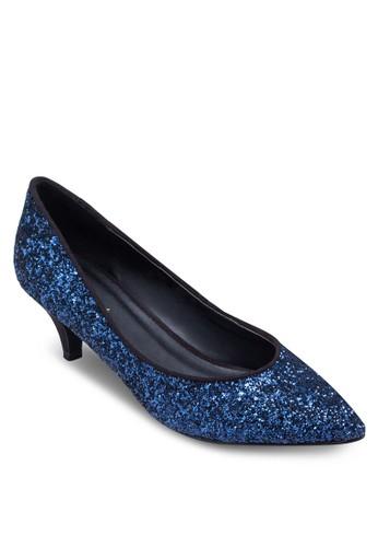閃zalora 台灣飾尖頭細跟鞋, 女鞋, 鞋