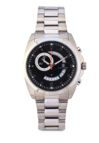 Porter 多功zalora鞋子評價能不銹鋼鍊錶, 錶類, 紳士錶