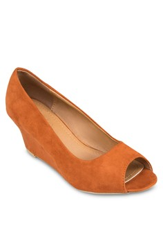 Marcelle 露趾楔形跟鞋