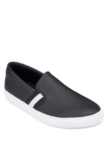 仿皮膠底懶人鞋,zalora 台灣 鞋, 懶人鞋