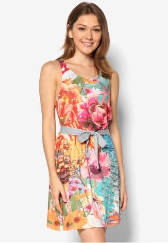 Macaua 印花背心zalora 心得洋裝, 服飾, 夏日洋裝