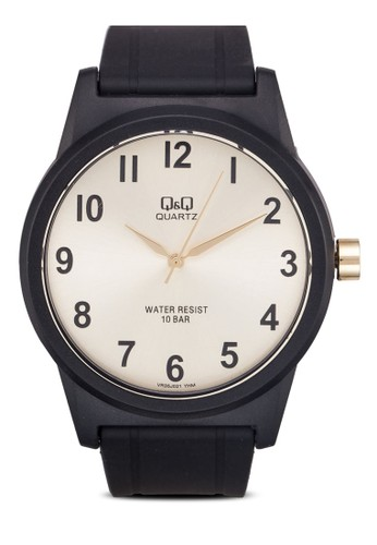 VR35Jzalora開箱021Y 經典撞色圓錶, 錶類, 其它錶帶