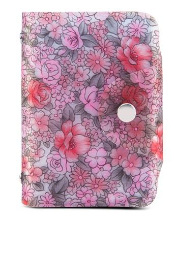 櫻花果凍卡片收納夾, 包, 皮夾及zalora 台灣零錢包
