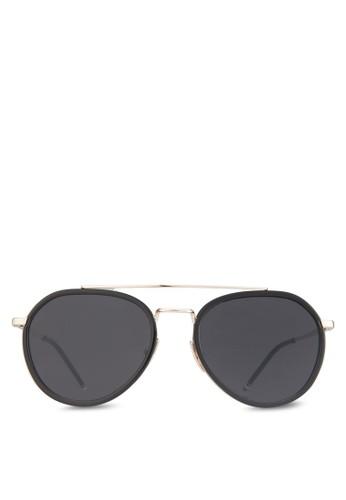 Mr Caleb 太陽眼鏡, 飾品配zalora 心得件, 飛行員框