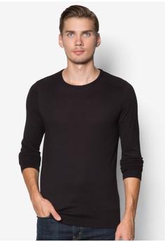 羅紋休閒長袖衫