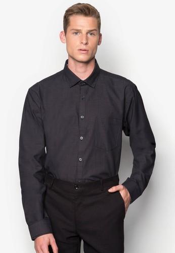 點點印花長袖襯衫, zalora退貨服飾, 服飾