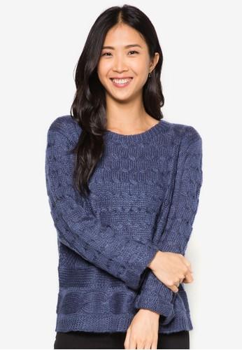 Isabella 針織長袖衫,zalora開箱 服飾, 毛衣& 針織外套