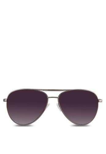 金屬飛zalora退貨行員太陽眼鏡, 飾品配件, 飾品配件