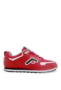 Fans Eureka R Sepatu Olahraga Lari Wanita - Merah
