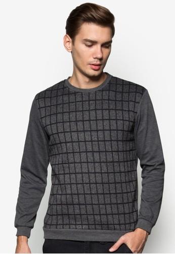 格紋拼zalora 評價接長袖衫, 服飾, 服飾