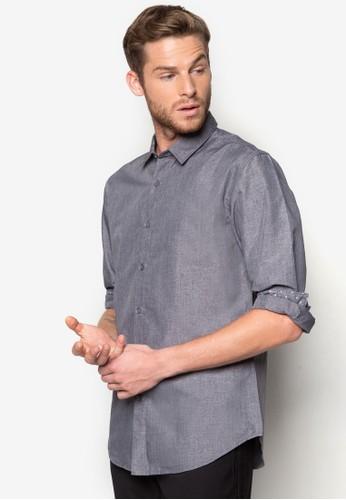 基本款長袖zalora退貨襯衫, 服飾, 素色襯衫