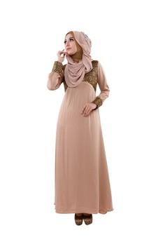 CantiQue Baju Muslim Gamis Pesta yang juga Nyaman untuk Ibu Menyu…